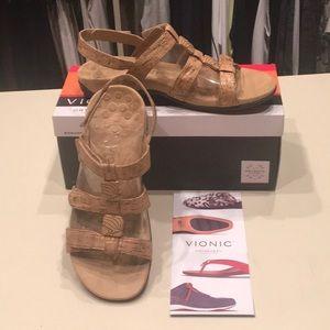 Vionic Cork Sandals